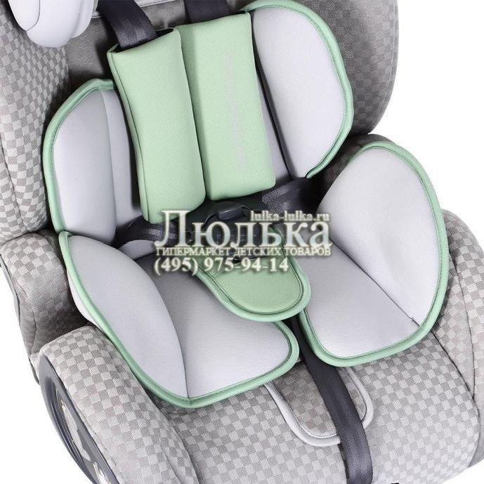 Happy baby boss isofix гр i-ii-iii цвет green