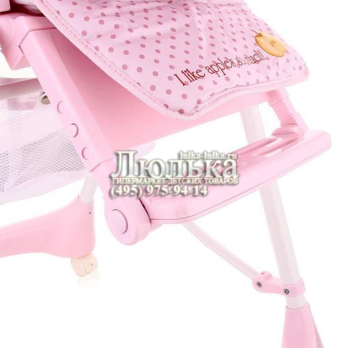 стульчик для кормления Happy Baby Kevin цвет Candy люлька