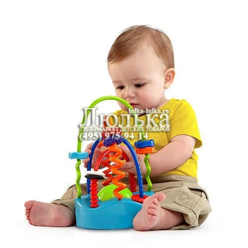 """Развивающая игрушка Веселые спиральки """" ЛЮЛЬКА - гипермаркет детских товаров, интернет магазин-журнал для родителей"""