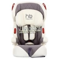 Автокресло Happy Baby Atlant, группа 1/2/3, Grey-White (4620005647329)