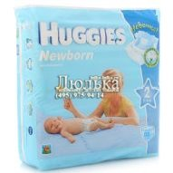 Подгузники Huggies Newborn 2 (3-6 кг), 88 шт.