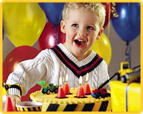 организация дня рождения ребенка